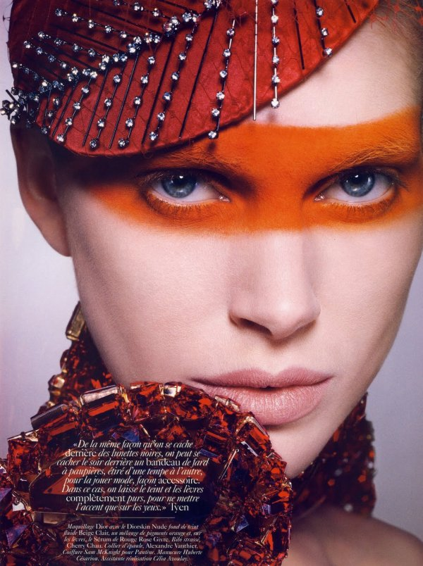 Iselin Steiro by Tyen for Vogue Paris June/July 2010