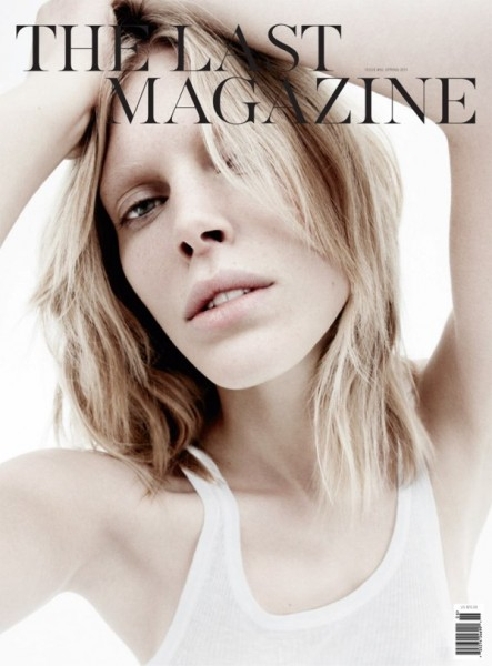 <em>The Last Magazine</em> S/S 2011 Cover | Iselin Steiro by Daniel Jackson