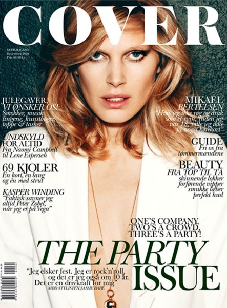 Iselin Steiro for <em>Cover Magazine</em> December 2010 / January 2011