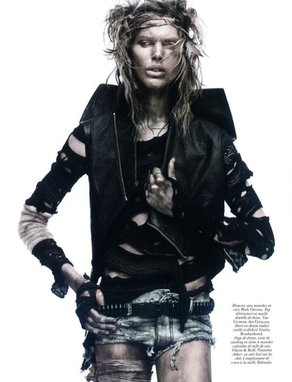 Vogue Paris March 2010   Iselin Steiro by David Sims