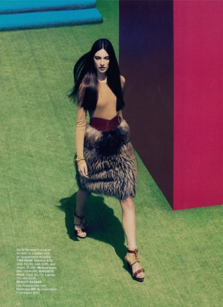 Jacquelyn Jablonski by Camilla Akrans for <em>Harper's Bazaar US</em> June/July 2010