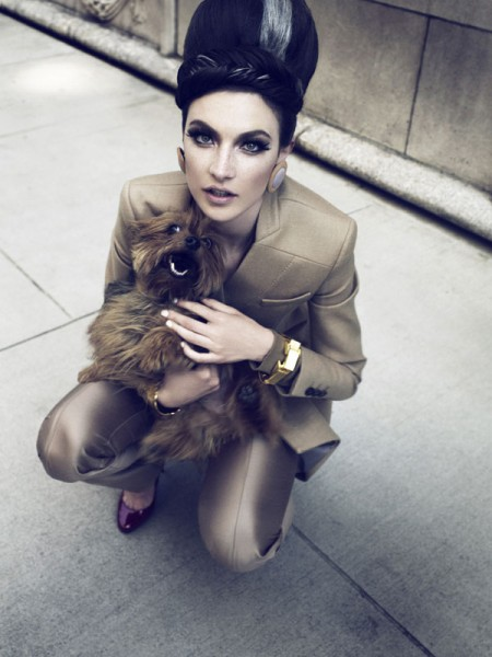 Jacquelyn Jablonski by Catherine Servel for <em>Telegraph Magazine</em> August 2010
