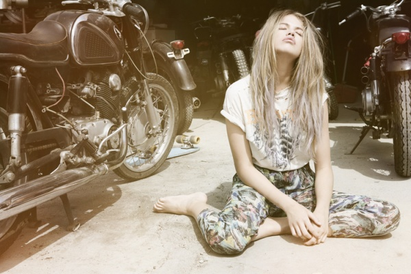 You Ain't Got Nothing But Nothing to Lose | Hailey Clauson by Jason Lee Parry