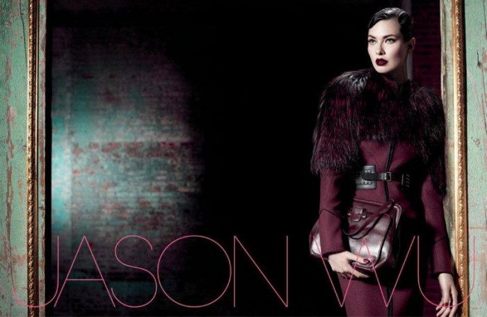 Shalom Harlow Gives Military Vibes for Jason Wu's Fall 2012 Campaign by Willy Vanderperre
