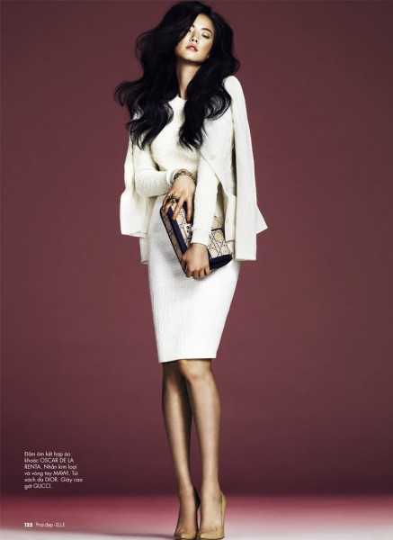 Jay Shin by Andrew Yee for Elle Vietnam February 2012