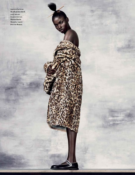 Jeneil Williams for <em>Bon International</em> #18 by Ben Weller