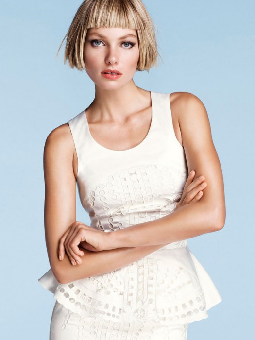 Jessica Hart for H&M Trend Update by Oscar Falk