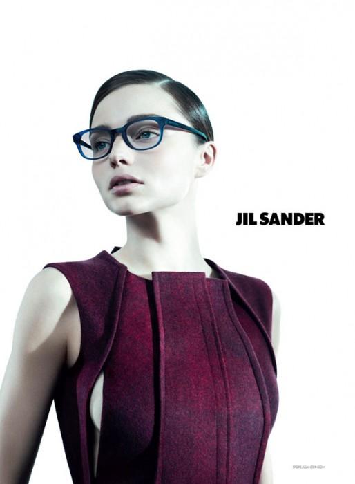 Jil Sander Fall 2010 Campaign | Miranda Kerr & Kasia Struss by Willy Vanderperre