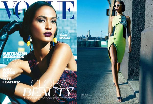 Joan Smalls by Kai Z Feng for Vogue Australia May 2012