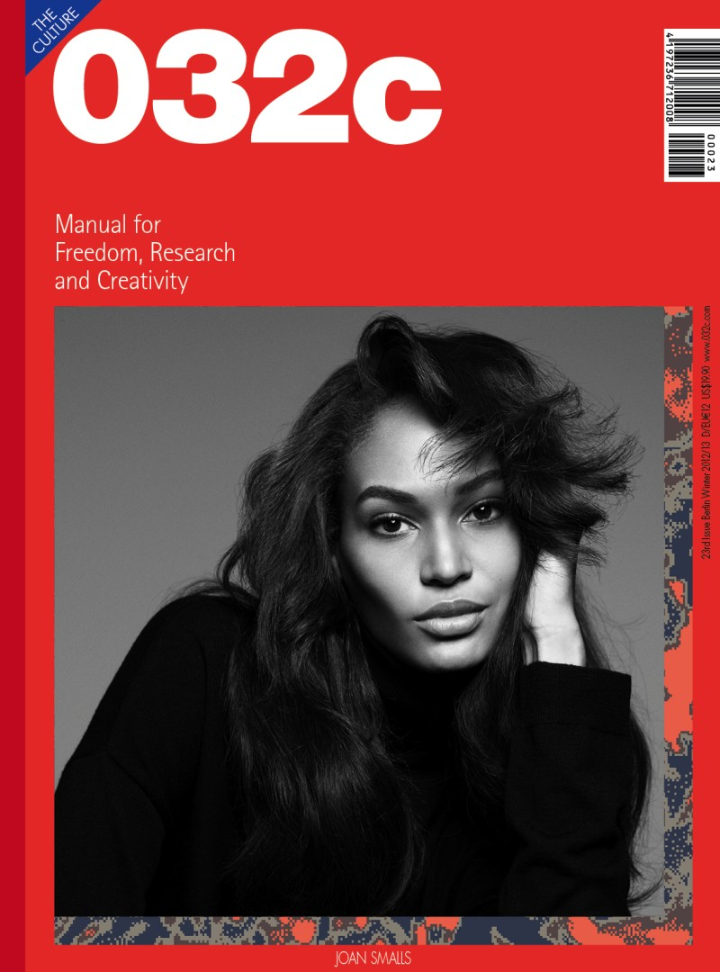 Joan Smalls Covers 032c and Dazed & Confused, Lensed by Sean & Seng