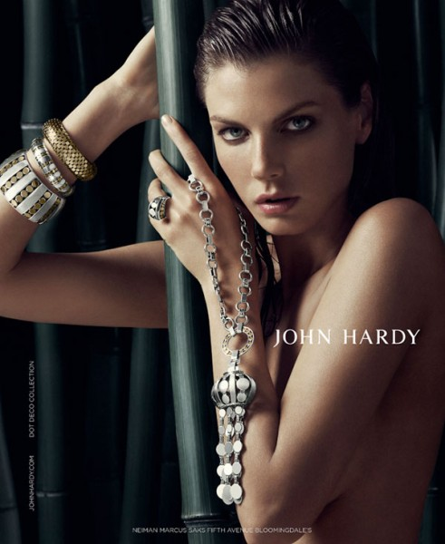 Angela Lindvall for John Hardy Fall 2010 Campaign by Sebastian Kim