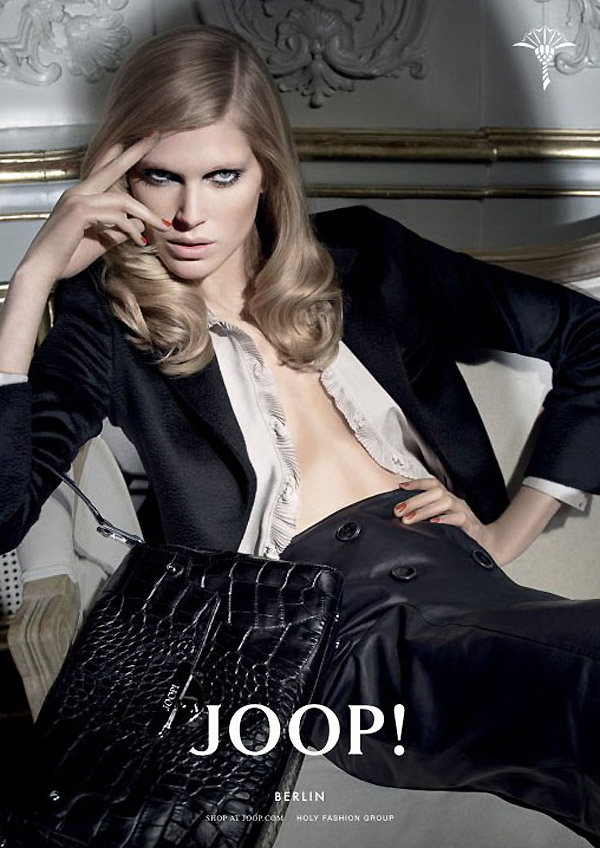 Joop! Fall 2010 Campaign | Iselin Steiro by Glen Luchford