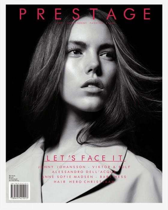 Prestage Magazine #4 Cover   Josefien Rodermans by Jasper Abels