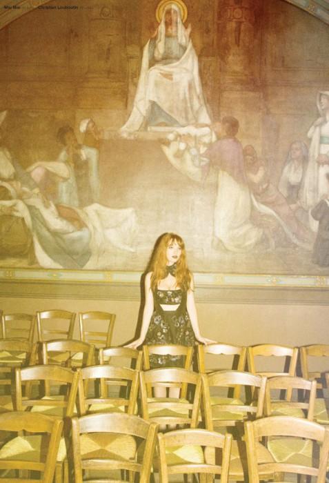 Joséphine de la Baume by Cameron Smith for Oyster #88