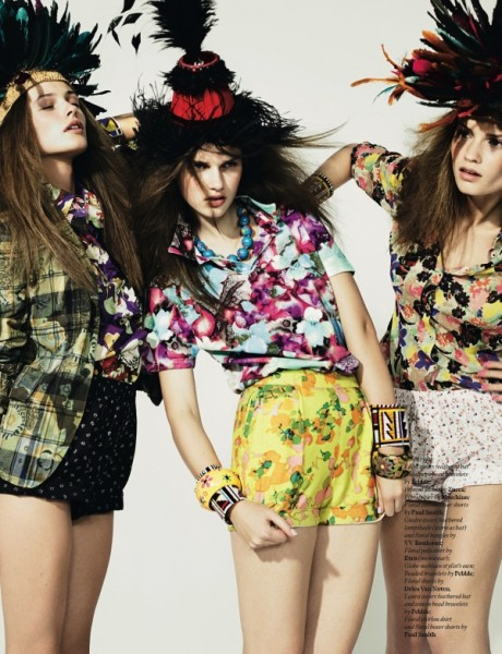 Spring in Bloom | Josh Olins for <em>AnOther</em> Spring 2008