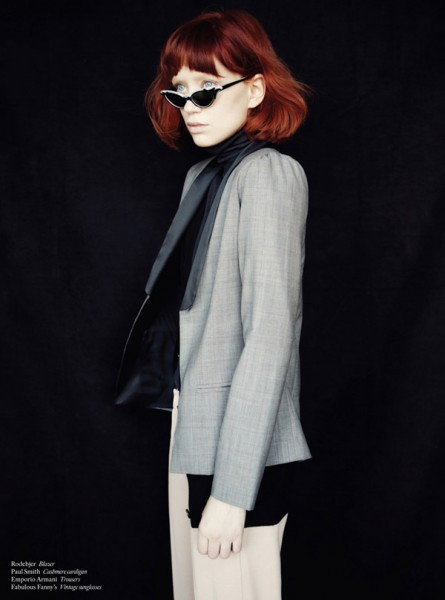 Judith Bedard by Adrian Nina for <em>SOMA</em> October 2010