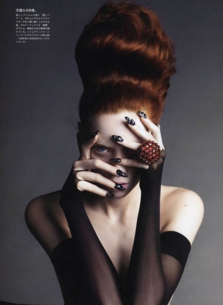 Judith Bedard by Takuya Uchiyama for Vogue Nippon Beauty