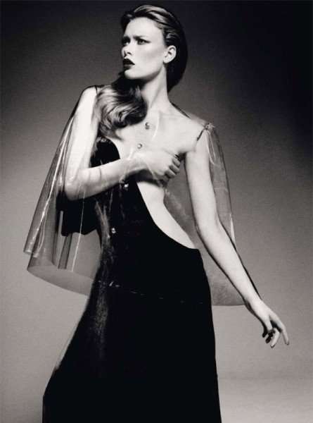 Julia Hafstrom by Jason Kibbler for <em>Harper's Bazaar UK</em> December 2010