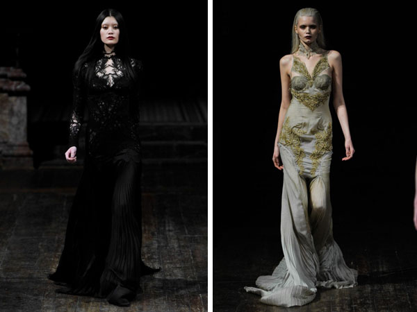 Julien Macdonald Fall 2011 | London Fashion Week