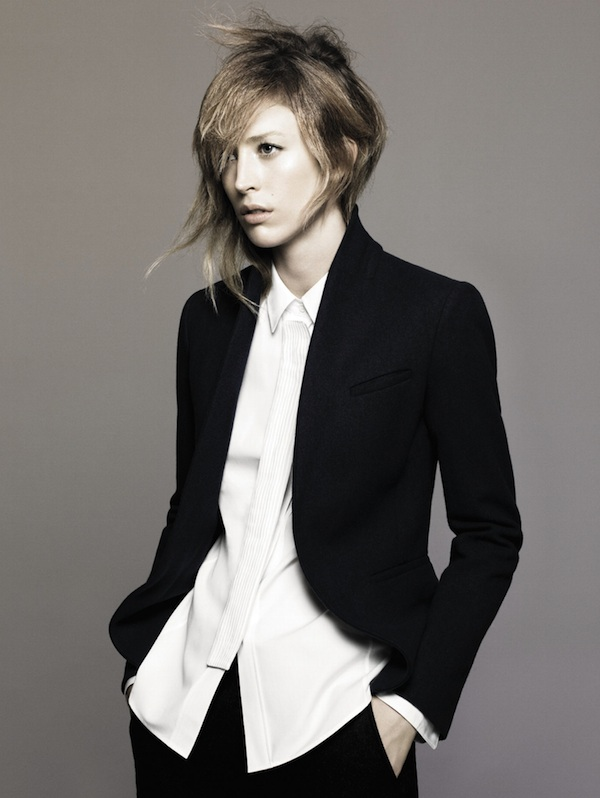Jil Sander + Uniqlo Fall 2010 Campaign Preview | Raquel Zimmermann by David Sims