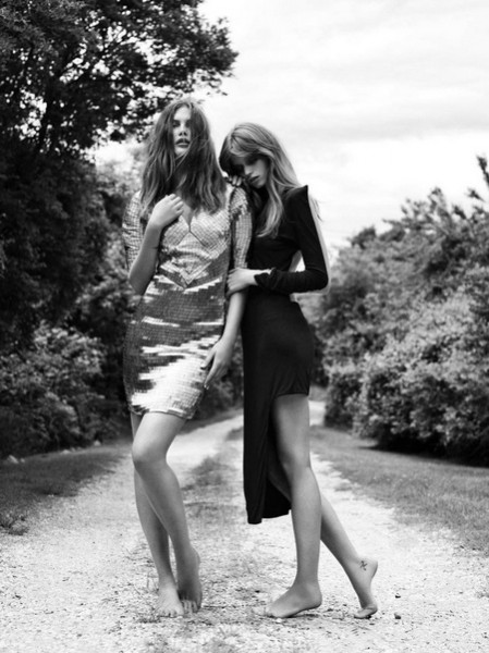 More Abbey Lee & Catherine by Greg Kadel