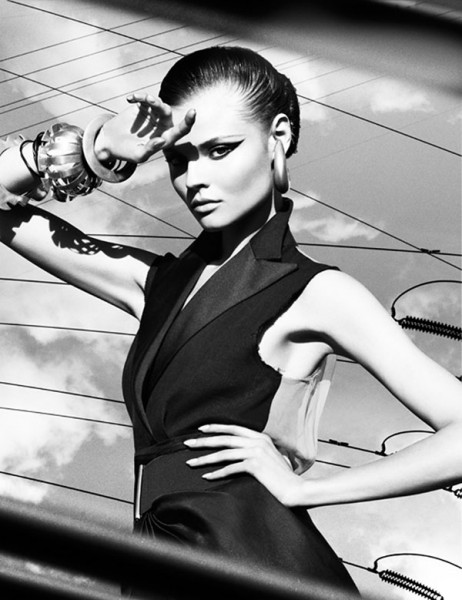 Magdalena Frackowiak by Greg Kadel | Numéro #111