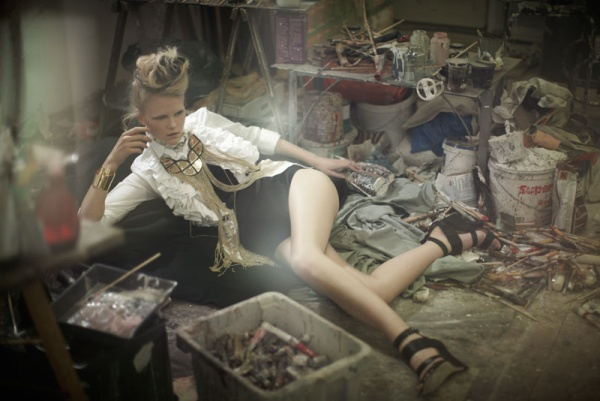 Anne Sophie Monrad by Karel Kuehne in La Muse | <em>Quality Magazine</em> #6 April 2010