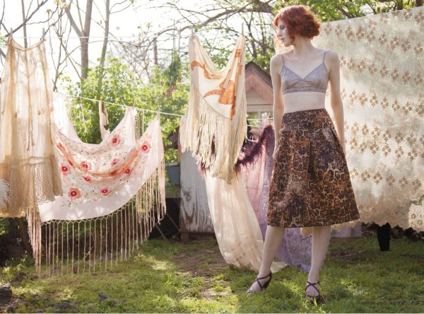 Karen Elson by Kate Elson for <em>Nylon</em> June/July 2010