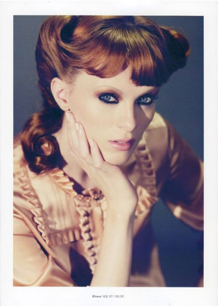 Karen Elson for Lula Fall/Winter by Catherine Servel