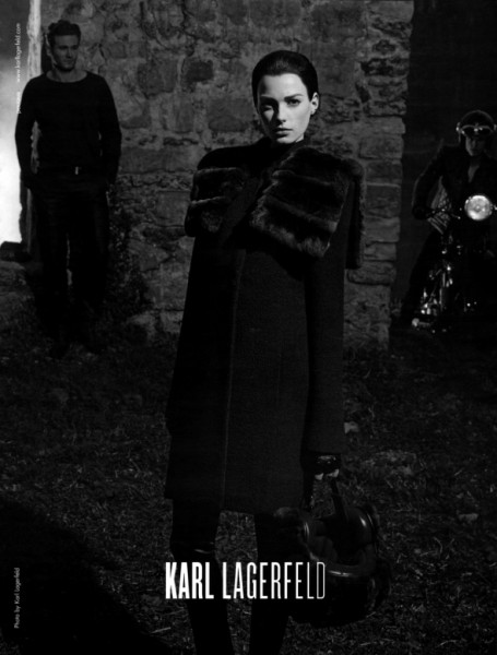 Campaign Preview | Sigrid Agren for Karl Lagerfeld Fall 2009