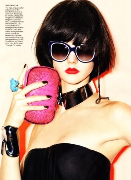 Karlie Kloss by Raymond Meier for Vogue US December 2010