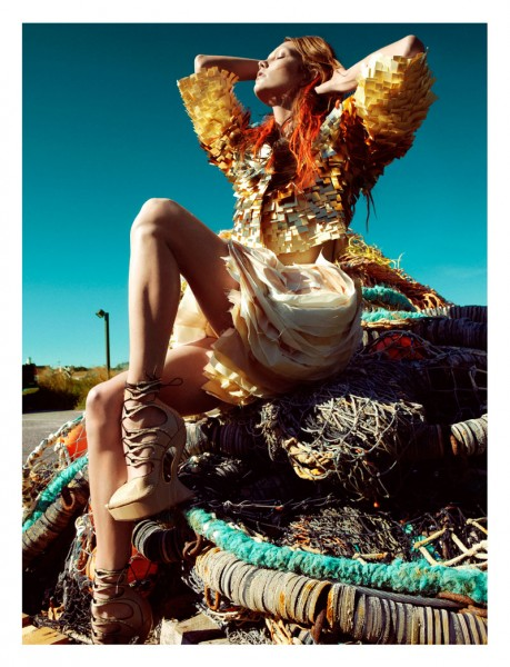 Karlie Kloss by Greg Kadel for <em>Numéro</em> #129