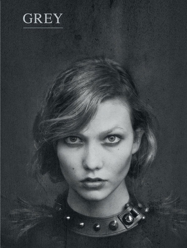 Grey Magazine Fall/Winter 2010 Cover | Karlie Kloss by Chadwick Tyler