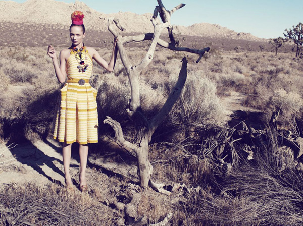 Karmen Pedaru by Catherine Servel in The Wild Frontier | <em>The Sunday Telegraph</em>