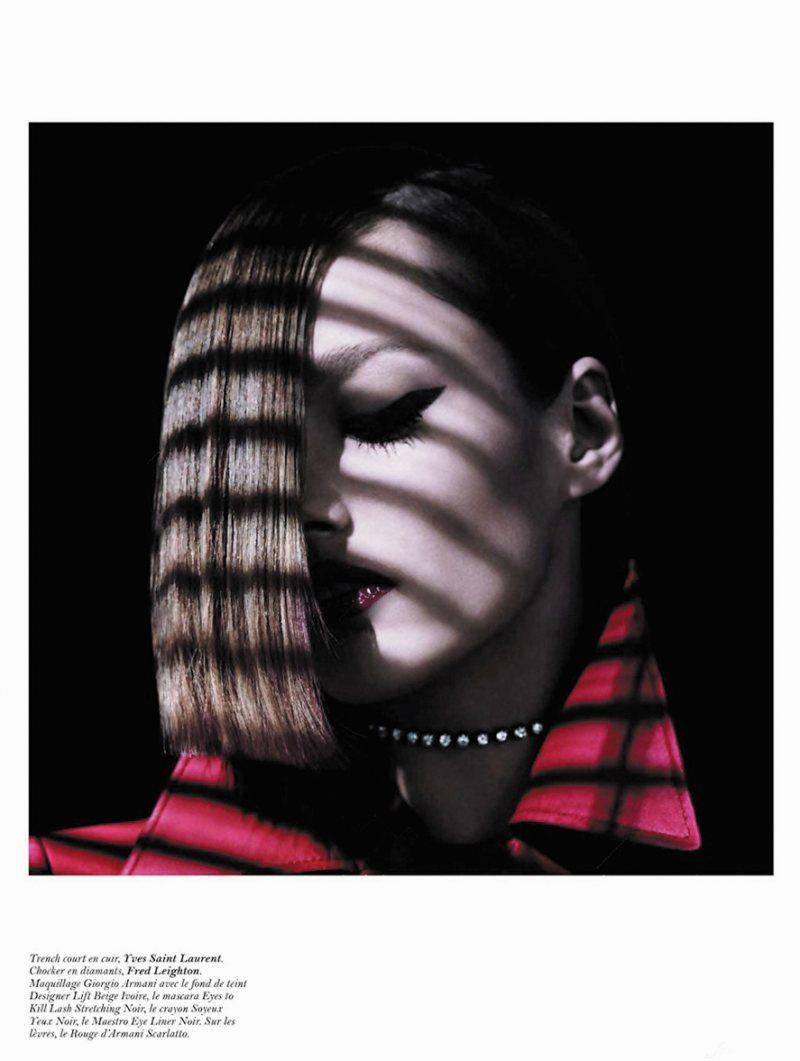 Karmen Pedaru by Hedi Slimane for Vogue Paris