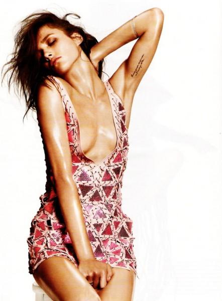 Vogue Germany   Karmen Pedaru by Terry Tsiolis