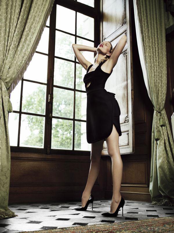Morning Beauty   Karolina Kurkova by Willy Vanderperre