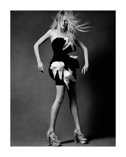 Karolina Kurkova by David Roemer | <em>View of the Times</em> Spring 2010