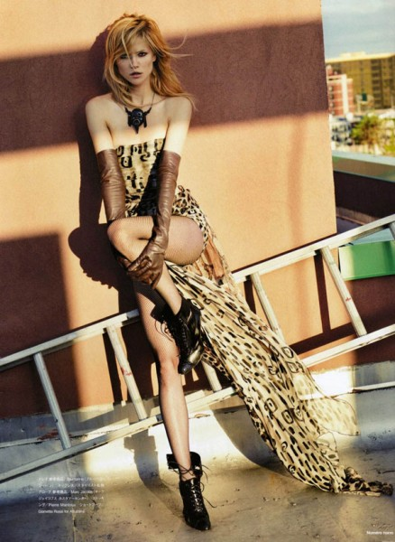 Kasia Struss by David Vasiljevic for <em>Numéro Tokyo</em> September 2010
