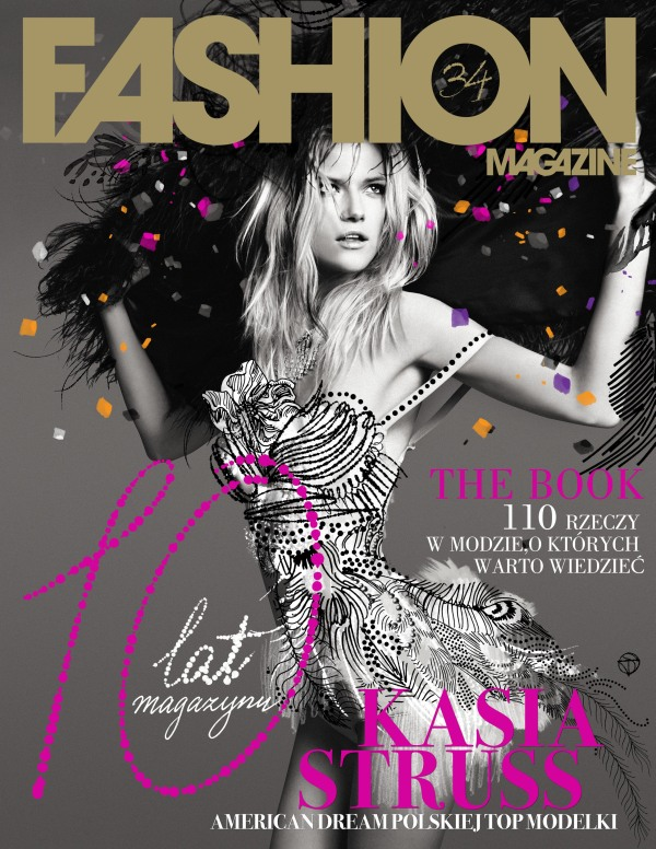 Fashion Winter 2010 Cover | Kasia Struss by Seth Sabal