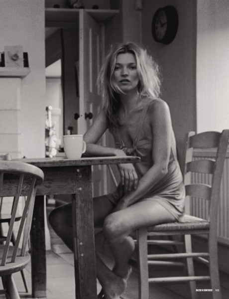 Morning Beauty | Kate Moss by Venetia Scott