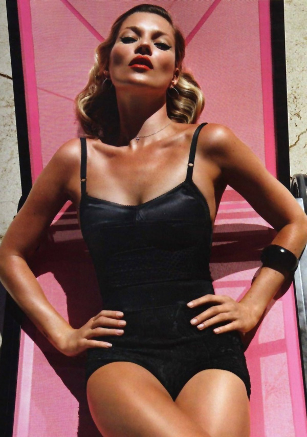 Kate Moss by Mario Sorrenti for Vogue Paris June/July 2010
