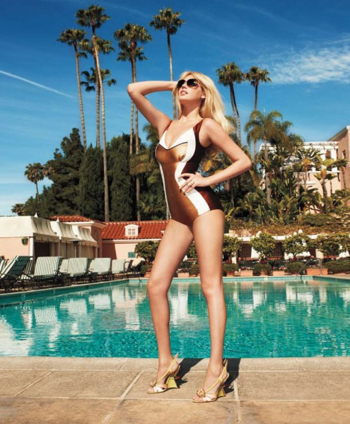 Kate Upton by Terry Richardson for Harper's Bazaar US May 2012