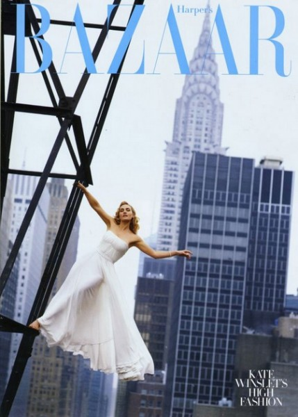 Kate Winslet for Harper's Bazaar US August 2009