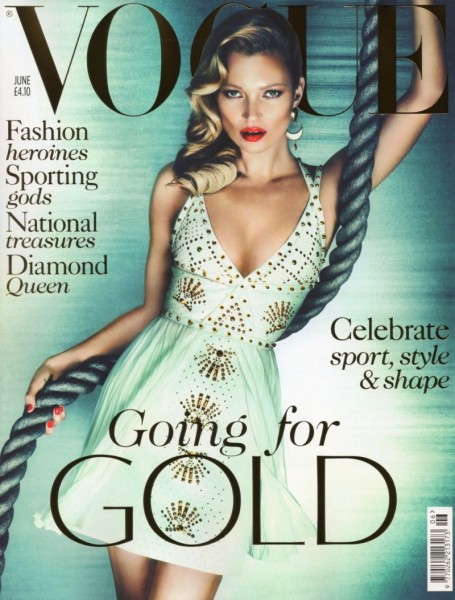 Vogue UK June 2012 Cover | Kate Moss by Mert & Marcus