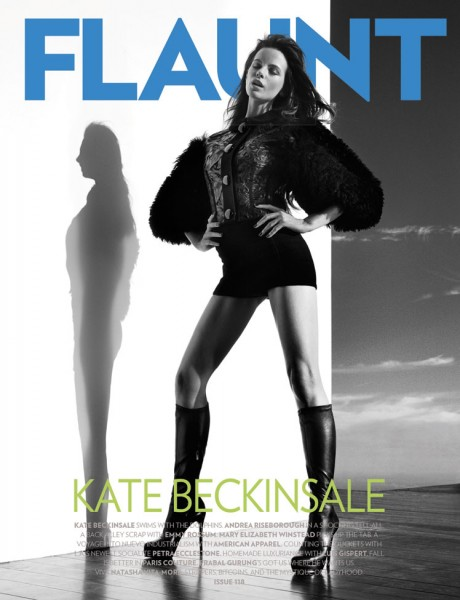 Kate Beckinsale Covers <em>Flaunt</em> #118 + Film