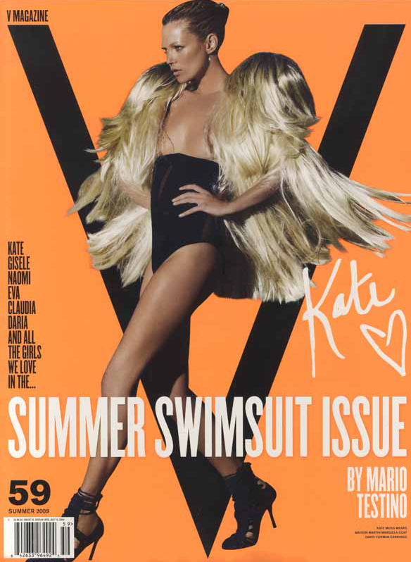 Kate Moss V #59 Cover (And All the Rest)