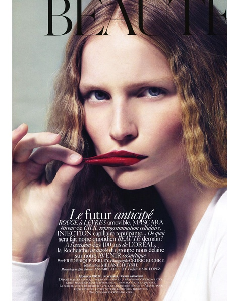 Katrin Thormann for Vogue Paris Beauté