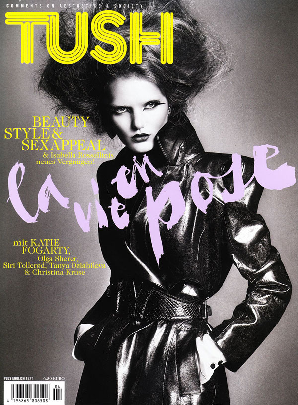 Cover | Katie Fogarty by Txema Yeste for Tush Winter 2009