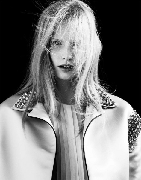 Katrin Thormann by Markus Pritzi for Sleek Magazine #33